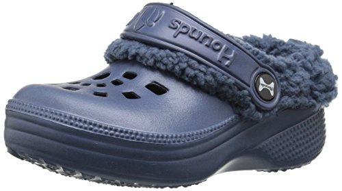 Image of DAWGS Baby Hounds Toddler Fleece Clogs-K, Navy, 10 M US
