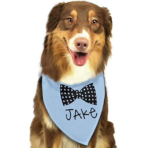 ShowRoom16 Customized Name Dog Bandana Colorful Bandana for Dogs Doggies Fun Custom Personalized Gifts ()