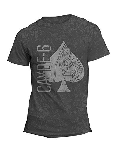Destiny Official Cayde-6 Distressed Spades T-Shirt
