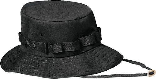 Rothco Jungle Hat, Black, Small