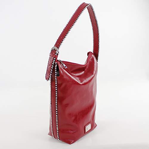 cm Rojo 13x37x32 Shopper Eferri Rojo H Bolso Arezzo Mujer x W L x HqxXUPw