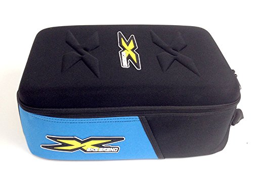 EKS BRAND Race Goggle Case (Hold 5 Goggles along with Smaller Accessories and Multiple Tear-Off - Top Eyewear Ten Brands