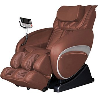 Cozzia Shiatsu Zero Gravity Massage Chair - Model 16027-3500R - Back Rest Brown (Cozzia Massage)