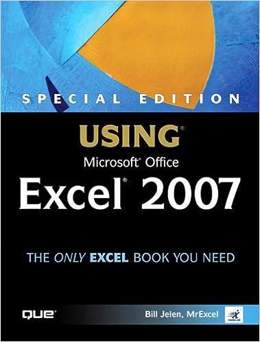 Microsoft Excel 2007 Ebook