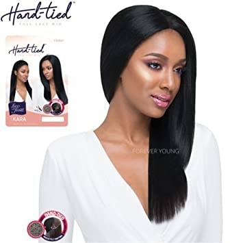 Amazon.com   Outre Synthetic 100% Hand-Tied Full Lace Front Wig Free Style  Parting - KARA (1)   Beauty 26e50561d91c