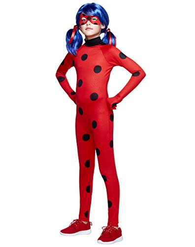 (Spirit Halloween Kids Ladybug Costume - Miraculous: Tales of Ladybug & Cat)