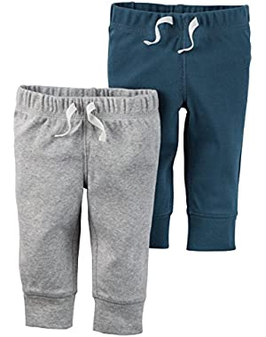 William Carters Baby Boy Clothes 2 Pack Bottoms Pants Short Set
