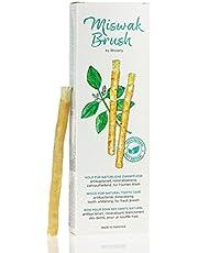 Miswak Brush van BLISSANY - Tandenborstel - traditionele Arabische tandenborstel, houten tandenborstel, voor natuurlijk witte tanden, 5 stuks