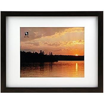 Amazon Com Gallery Solutions 11x14 Espresso Wood Wall