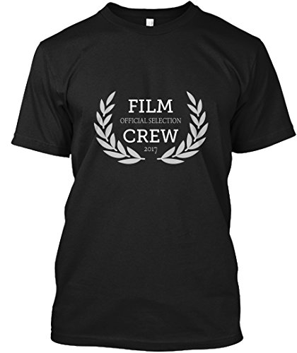 Official Selection Film Crew T Shirt Tshirt - XLT - Black - Hanes Tagless Tee - Official Xlt Shirt
