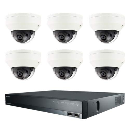 - Samsung (48 Hour Sale) CCTV Security 6 Camera Kit for Boats, Ferries & Ships 6X Outdoor Vandal Resistant Weatherproof Dome Cameras 1x 8CH Recorder 1TB