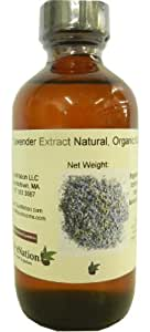 Natural Lavender Extract- Organic Compliant 4 oz, 4 Ounce