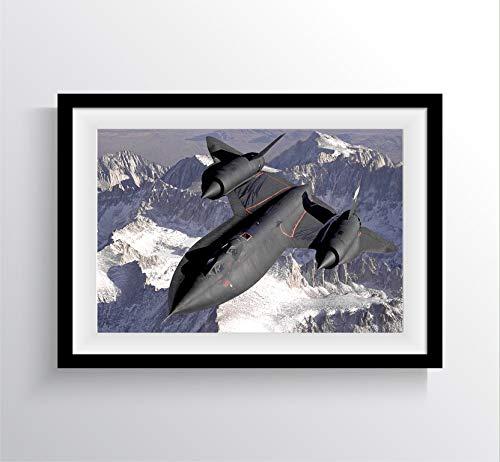 SR-71 Blackbird Fighter Jet Photo Mural - Photography Art 17