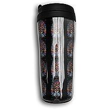 A Wisdom PHD Tiger Coffee Tumbler Thermal Mug Travel Mugs With Flip Top