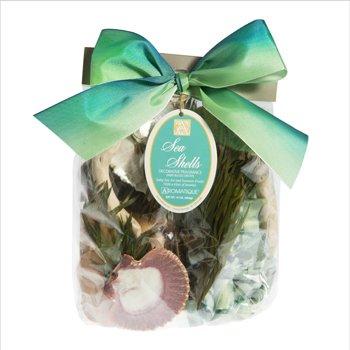 Sea Shells Decorative Fragrance Bag, 16 Oz (454g) By Aromatique (Seashell Potpourri)