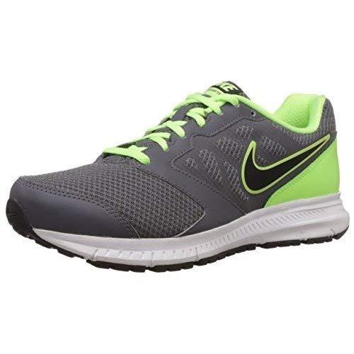 [ナイキ] Downshifter 6 MSL Mens Running Shoes, Dark Grey/Black - Ghst Grn-White (9.5)   B01IMDQG6S