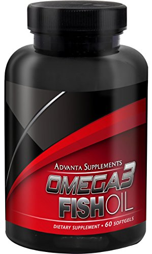 Advanta Supplements Softgels Pharmaceutical Omega 3