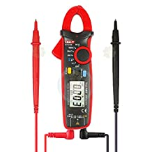 UNI-T UT210E True RMS AC/DC Current/Voltage Mini Clamp Meters with Capacitance,Resistance Measurement