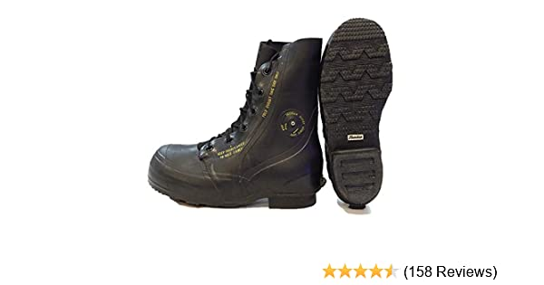 30f61a82bc7 Combat Boot,Mickey Mouse Extreme Cold Weather Boots, Waterproof Rubber,  Genuine US Military Issue