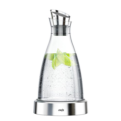 Emsa Flow 德国不插电玻璃冰水壶