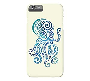 Octopus. iPhone 6 Plus Beige Barely There Phone Case - Design By Humans