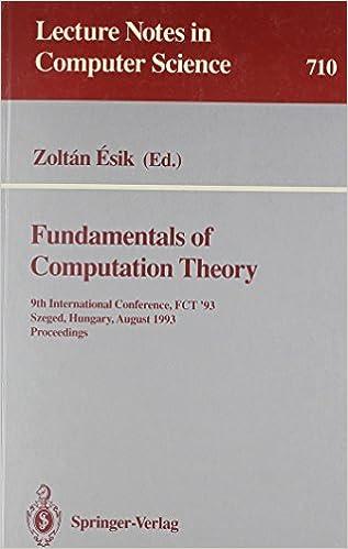 Last ned pdf-filer gratis bøker Fundamentals of Computation