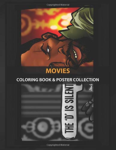Coloring Book & Poster Collection: Movies The D Is Silent ...