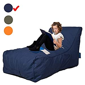 Livebest Bean Bag Chair – Floor Chair Couch Lazy Lounger Memory Foam Sofa with Dirt-Proof Oxford Fabric&Side Pocket for…