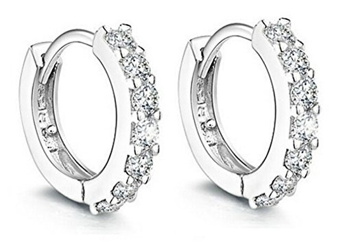 women-jewelry-925-round-hoop-earrings-diamond-rhinestones-sterling-silver-earrings-studs-set