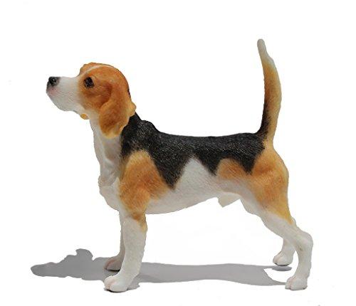 Beagle, Dog Figurine Statue 4 1/8 Inch Long