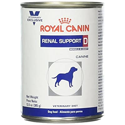 Royal Canin Veterinary Diet Renal Support D Canned Dog Food 24/13.5 oz