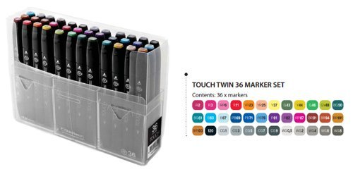 ShinHan Touch Twin Marker Set 36