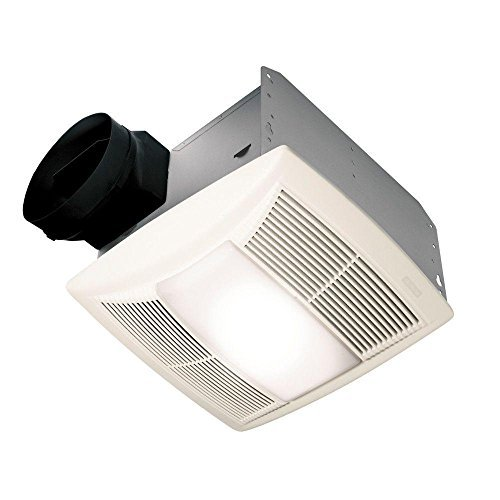 QT Series Decorative 130 CFM Exhaust Fan with Light and Night Light, ENERGY STAR (Decorative Ceiling Fan Series)