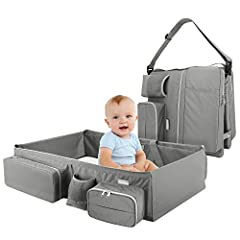 Product Description This portable bassinet is a great helper for mom to realize the wish of traveling with baby. Portable and foldable in design to allow you take it to anywhere.  Main Features ♥ Made of eco-friendly and soft material, very ...
