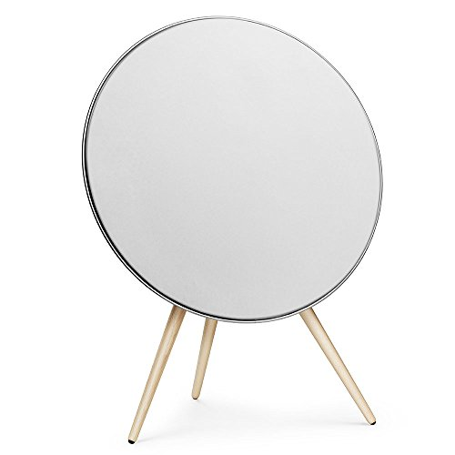 B&O PLAY by Bang & Olufsen Beoplay A9 Music System Multiroom Wireless Home Speaker, Compatible with Alexa  (White)