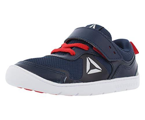 Reebok Kids Baby Boy's Ventureflex Stride 5.0 (Toddler) Navy/Primal Red/White Athletic Shoe