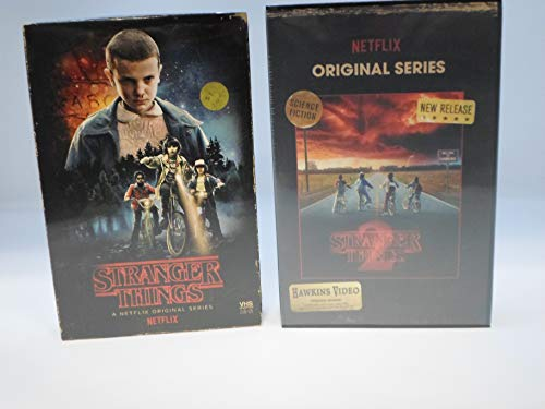 1st Collectible - Stranger Things Season 1 and 2 Limited Edition (Blu-Ray/DVD) in Collectible Faux VHS Packaging