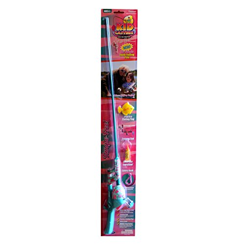 Kid Casters Jimmy Houston Girls No Tangle Fishing Rod