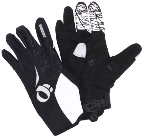 Pearl Izumi Gloves Spandex (Pearl Izumi Women's Cyclone Gel Glove, Black, Large)