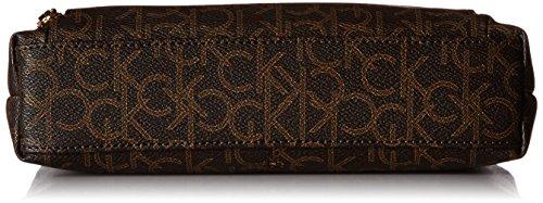 Klein Crossbody Signature Zip Brown Khk Top Hudson Calvin Camel dxHwqW