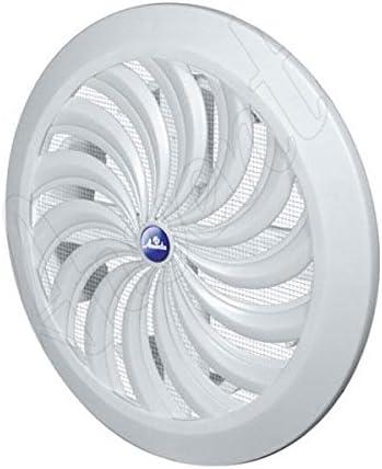Copertura per bocchetta di ventilazione interna e posteriore.