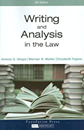Writing and Analysis in the Law (Textbook)