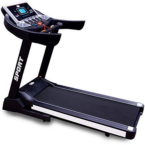 CENTURFIT Caminadora Electrica 3HP Motor AC Plegable Gym 12 programas 6 lecturas Uso Rudo Cardio Inclinacion Autom