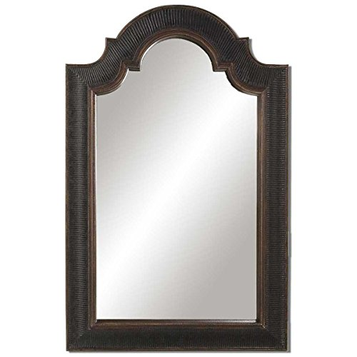 Uttermost 01760 P Ribbed Arch Antique Mirror