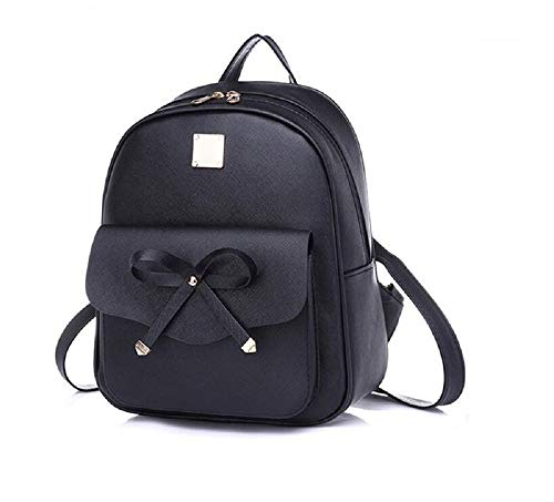 0494aacb71ee Girls Bowknot Cute Leather Backpack Purse for Women by SarahRose