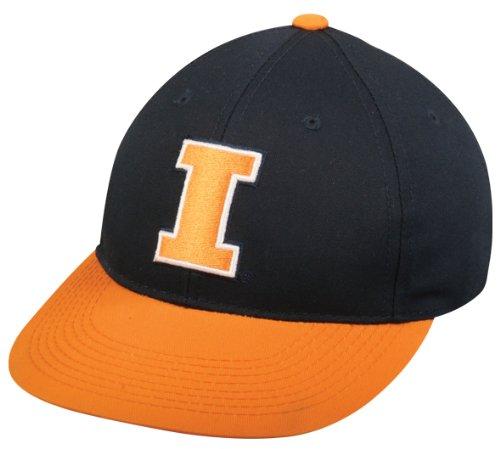 Illinois Fighting Illini ADULT Cap Officially Licensed NCAA Authentic Replica Baseball/Football ()