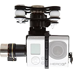 DJI CP.ZM.000052 Zenmuse standard  H3-3D 3-Axis Gimbal for GoPro HERO3/3+, Silver/black