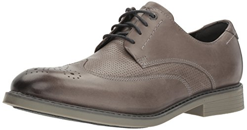 Rockport Men's Classic Break Wing Tip Oxford, Timber, 9.5 M US
