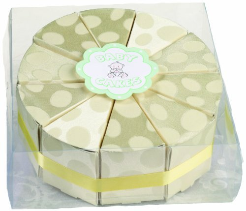 Lillian Rose Baby Rose by Cake Box Favors, Yellow, Yellow, 2
