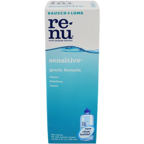 Bausch & Lomb ReNu Multi-Purpose Solution, 4 Fluid Ounces